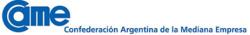 Carta recibida de la Confederación Argentina de la Mediana Empresa (CAME)
